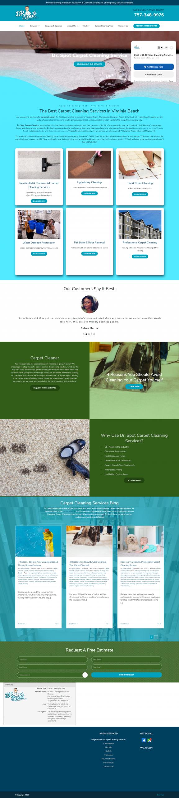 seo carpet cleaning virginia beach
